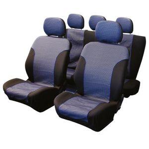 HOUSSE DE SIÈGE Jeu de couvre-sieges 9pcs -Sky- compatible airbag