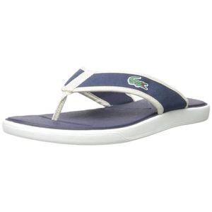Sandal Lacoste L8Z3D Men's Flip Taille 47 flop 30 L tvwgHYxnvq