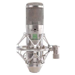 MICROPHONE Pronomic CM-414 Studio microphone condensateur à d