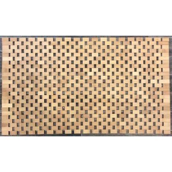 Tapis salle de bain Bambou - Achat / Vente tapis de bain - Cdiscount