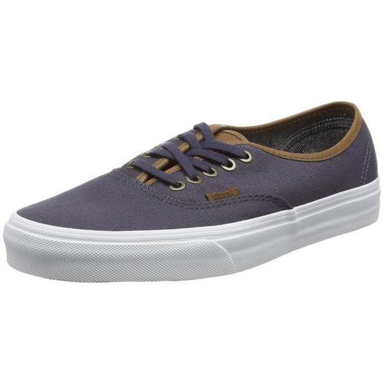 Vans Chaussures à lacets Authentic unisexe 1Y1HBR Taille-36 / Gris Gris - Achat / Taille-36 Vente basket 6a0a54