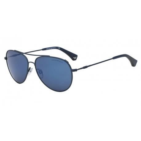 Achetez Lunettes de soleil Emporio Armani Homme Modern (AR) 0EA2010 monture  bleu mat 974cb249f7eb