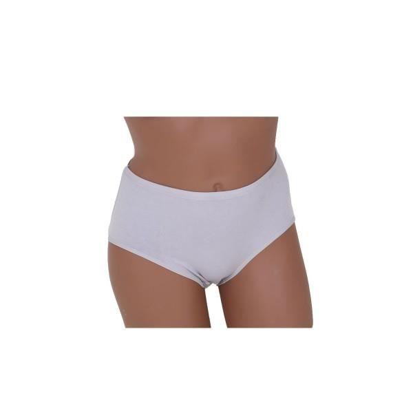 Blanc gris marron Xl L Et rouge Femme noir Xxl Grande violet Coton Taille Culotte XO18qW