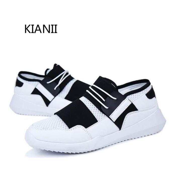 Baskets DY-9 PLUS Chaussures Homme 2016 Nouveau-Blanc