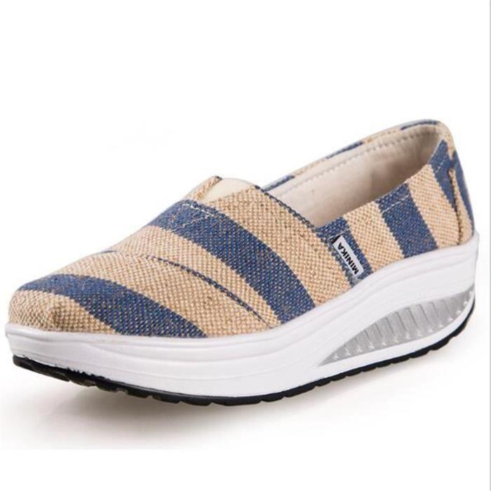 Femmes Chaussures Nouvelle Mode Haut qualité Confortable Poids Léger Antidérapant Talons hauts chaussures Grande Taille 35-40