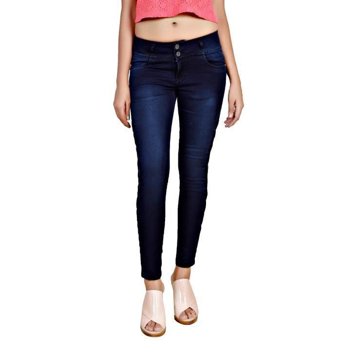Women's Fancy Designer Silky Stretchable Denim IAV94 Taille-30 Q83SZJVMe