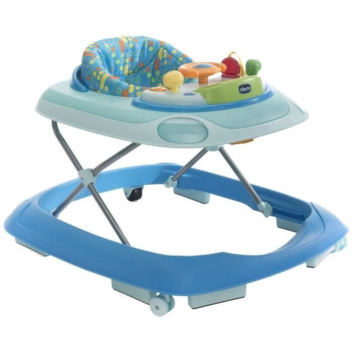 Destockage CHICCO Trotteur Band Turquoise