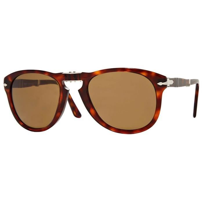 88683f4a994b41 Persol 0714-s Ecaille - Achat   Vente lunettes de soleil Mixte ...