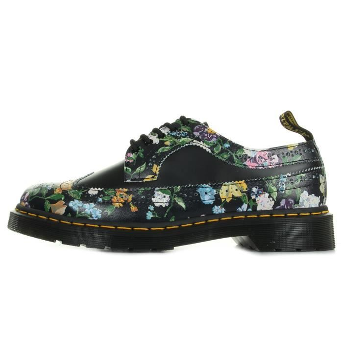 Chaussures Dr Martens Wingtip Shoe Black Darcy Floral