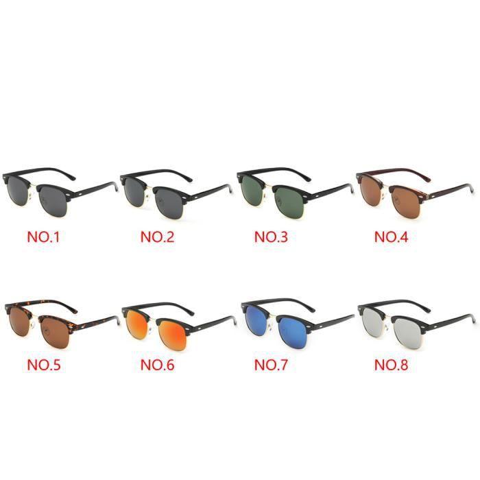 Hommes Femmes sport Lunettes de soleil Lunettes UV polarisants Protection Lunettes de soleil NO.5