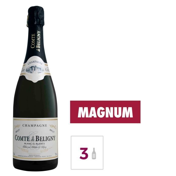 Gh martel comté de béligny champagne blanc de blancs 15 l x 3