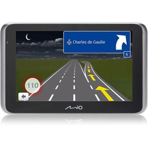 MOI MiVue drive 65 LM GPS voiture - Caméra embarquée Premium Extreme HD - Aide ? la conduite - Mise ? jour ? vie - Bluetooth& TMC