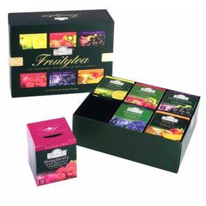 THÉ Coffret Sélection de 60 sachets de thés aromatisés