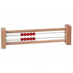 CALCULATRICE Cadre De Calcul Avec 20 Perles Rouge-blanc,, Les E