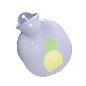 BOUILLOTTE BÉBÉ Violet Ananas rond 0.4 litre Bouillotte d'eau chau