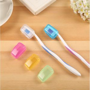 BROSSETTE 5PCS Outdoor Voyage Camping Toothbrush Head Covers