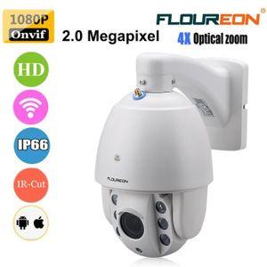 CAMÉRA IP Caméra IP FLOUREON SD37W Caméra de Surveillance Ex