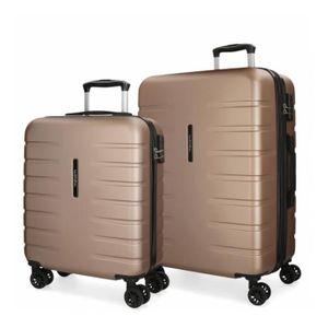 SET DE VALISES Set de 2 valises rigides 55-69 Movom Turbo champag