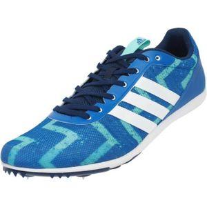 adidas Originals Distancestar pointes Bleu moyen - Chaussures Chaussures-de-running Homme