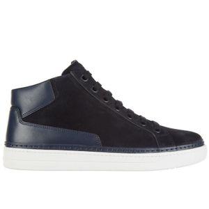 BASKET Chaussures baskets sneakers hautes homme en daim P