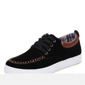 Chaussures En Toile Hommes Basses Quatre Saisons Populaire BYLG-XZ114Bleu39 6vDTl