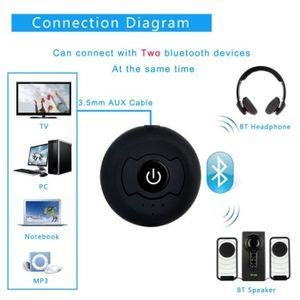 Récepteur audio Bluetooth CSR4.0 émetteur de musique audio multipo