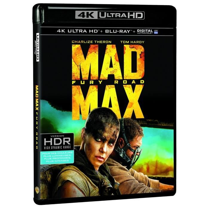 BLU-RAY FILM Blu-Ray 4K Mad Max : Fury Road - 4K Ultra HD