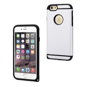MUVIT Coque Shockproof Silver Apple Iphone 6-6s