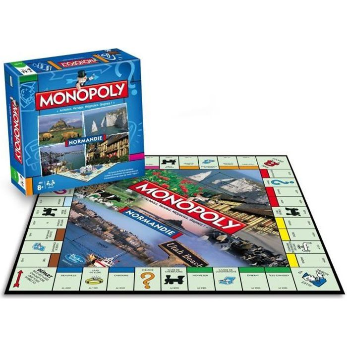 WINNING MOVES Monopoly Normandie