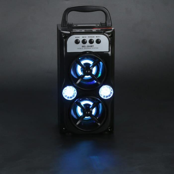 Extérieur Sans Fil Bluetooth Haut-parleur Portable Super Bass Avec Radio Usb - Tf Aux Fm _son196