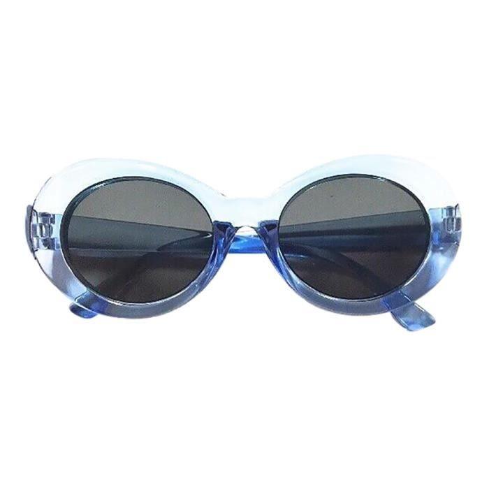 Deuxsuns®Retro Vintage Clout lunettes lunettes de soleil unisexe rappeur ovales lunettes grunge lunettes@zf470