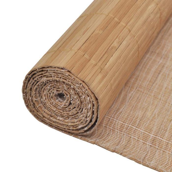 Papiers peints papier mural bambou m marron achat - Achat papier peint ...