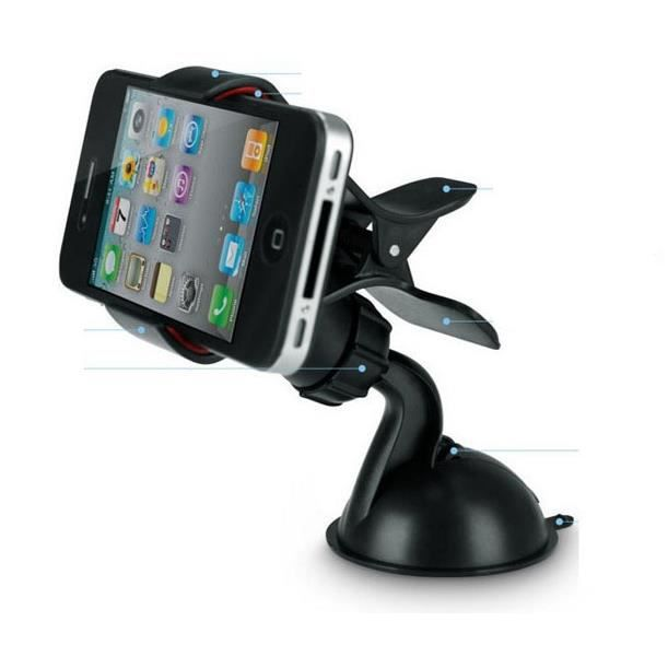 Support Telephone Voiture Ventouse Iphone 4 5 6 Achat Vente