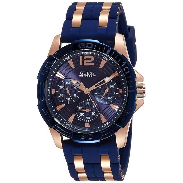 Guess - Montre homme Sport steel silicone (W0366G4) taille Taille unique cm be594dfee47