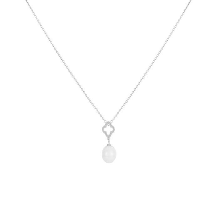 Collier argent Pendentif Ceramique Ceranity 1-72/0087-B