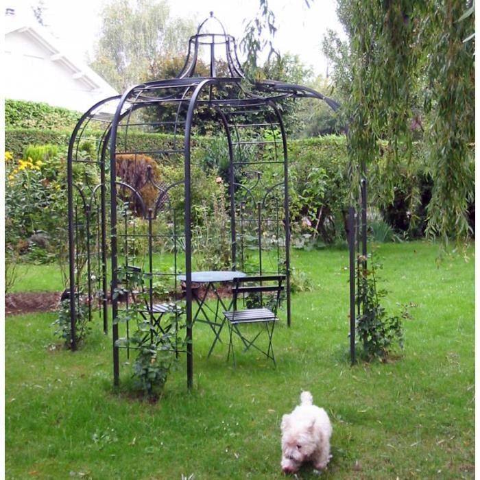 Gloriette Princess Medium Tonnelle Pergola de Jardin Abris Rond En ...