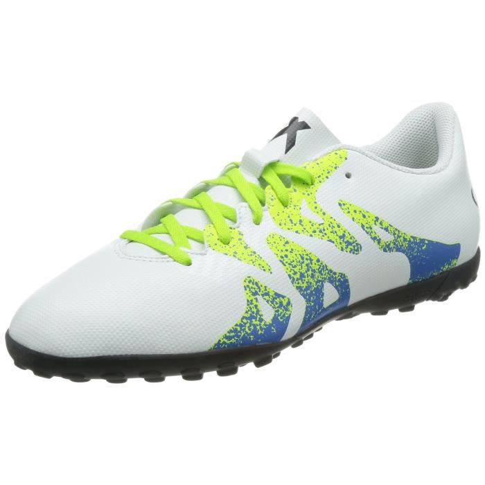 purchase cheap abfd1 c1163 Adidas x 15.4 TF Chaussures de Football Homme Blanc S74610
