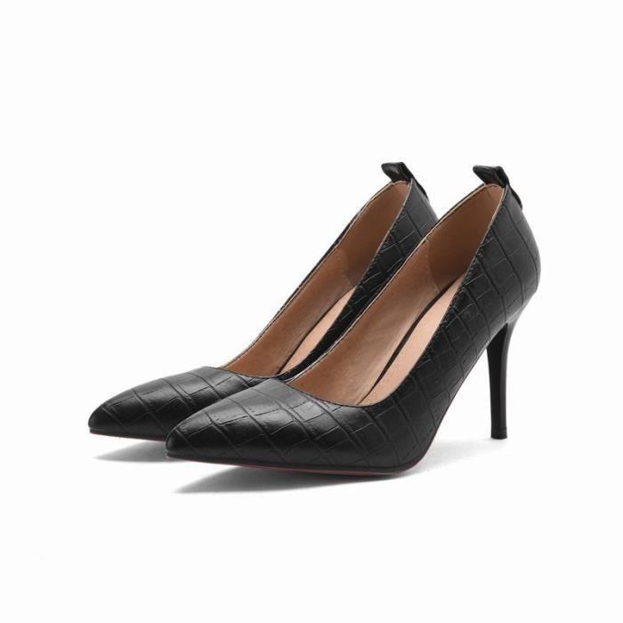 Femmes à talons hauts nouvelle mode solides élégantes belles confortables q1vnsd