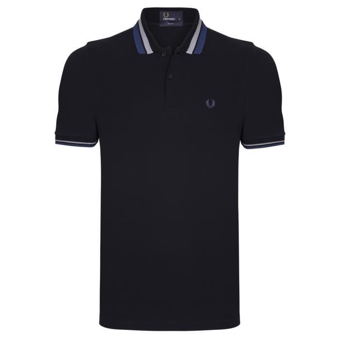 POLO Fred Perry Homme Polo Slim Fit Noir