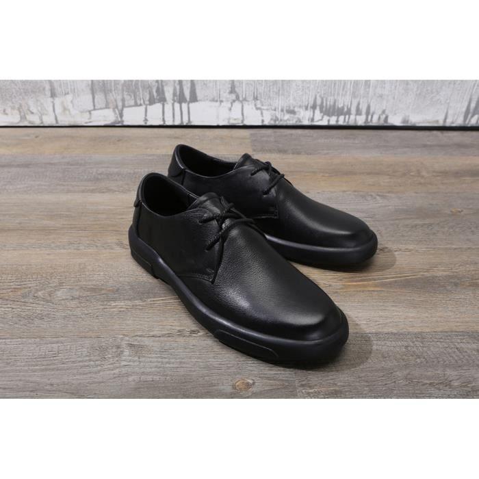 DERBY Chaussures de ville business homme chaussons en cu