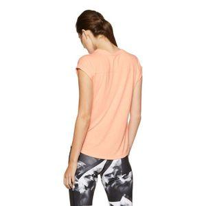 292ec76f97 ... T-SHIRT REEBOK Plaine Regular Fit T-shirt de la femme PGZU ...