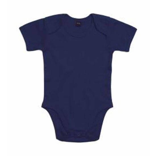Body bébé jambes manches courtes - BZ10 - bleu marine Bleu marine - Achat    Vente body - Cdiscount d5aa0238e52