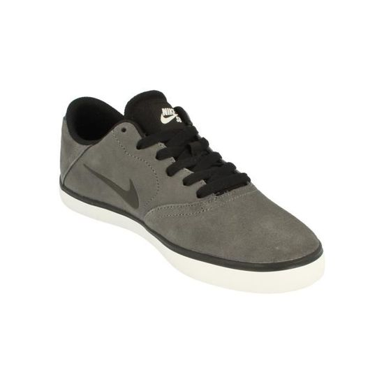 more photos 9db8d a8b92 Nike Sb Check Hommes Trainers 705265 Sneakers Chaussures 011 Gris - Achat    Vente basket - Cdiscount