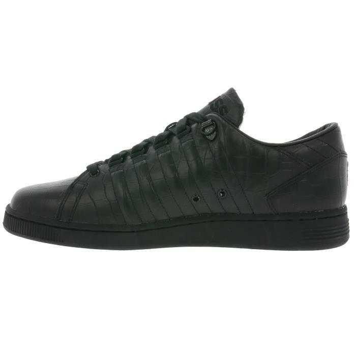 K-SWISS Lozan III TT Croco Sneaker Homme Noir 05359-002-M