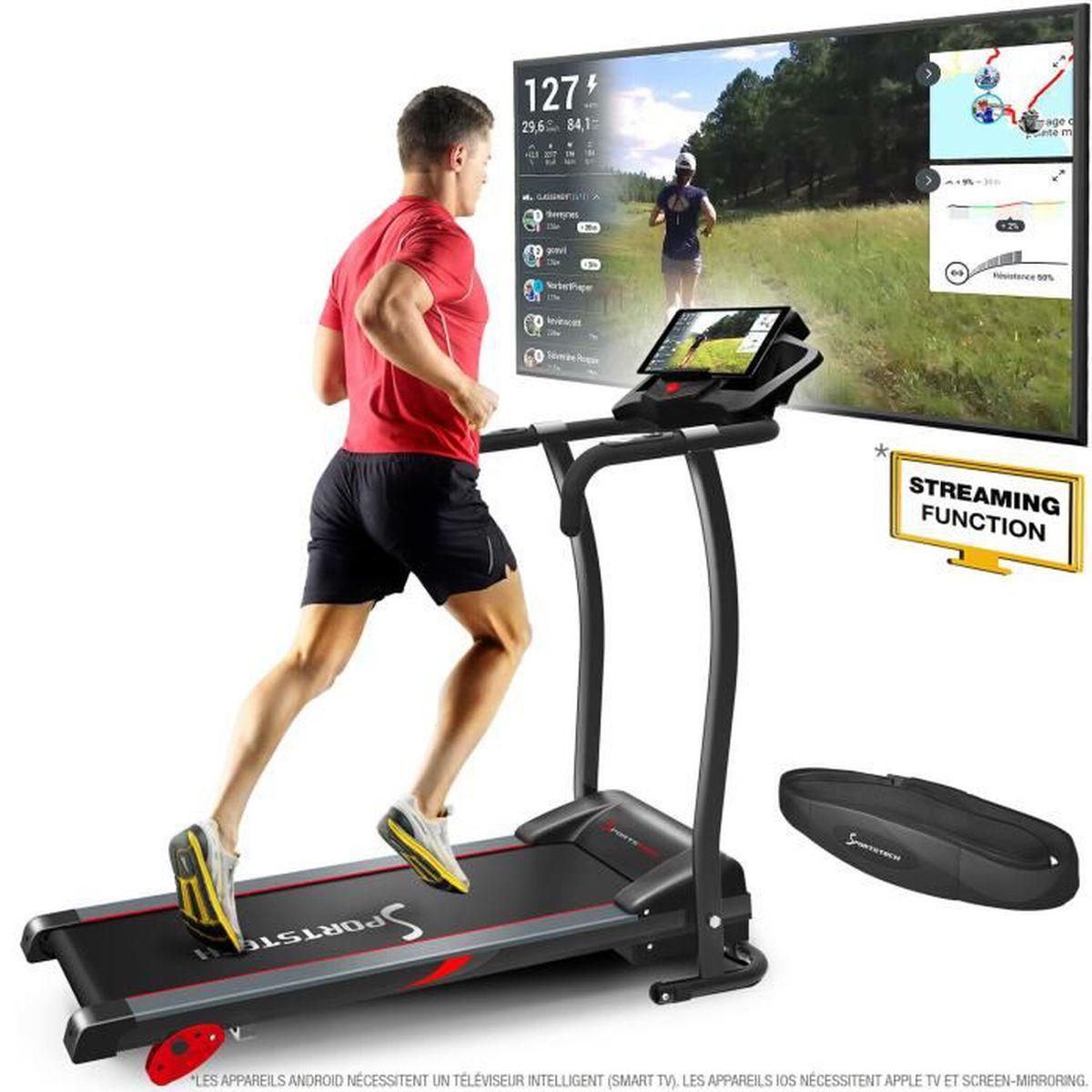 9711b2e823014 Tapis de course F15 pliable fitness cardio marche roulant électrique ...
