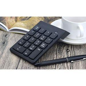 PAVÉ NUMÉRIQUE 2.4G Mini USB 18 Touches Nombre Pavé numérique Cla