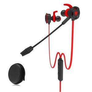 CASQUE - ÉCOUTEURS PLEXTONE In-Ear PC Gaming Écouteurs avec Mic Split