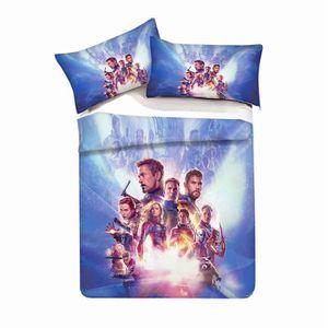 HOUSSE DE COUETTE ET TAIES The Avengers Parure de Couette Enfant/Adulte - 1 H