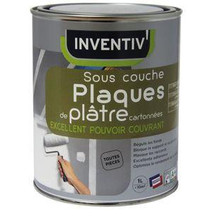 SOUS-COUCHE - ENDUIT Sous-couche Plaques de plâtre très opacifiant INVE
