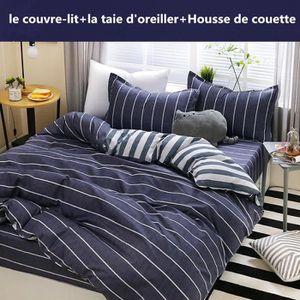 Lit Simple Housse De Couette Ensemble De Literie 200 Comte Literie